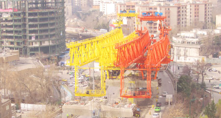 PSM LAUNCHING GANTRY ASSEMBLY
